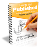 fitness blogging for fun & profits